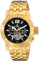 Burgmeister Men's BM329-229 Analog Display Automatic Self Wind Gold Watch