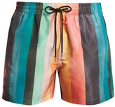 Paul Smith Artist Stripe-print swim shorts