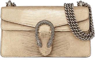 Gucci Dionysus Small Metallic Lizard Shoulder Bag