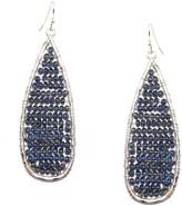 Schiff Marlyn Teardrop Crystal Bead Earrings