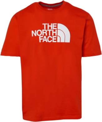 The North Face Half Dome Short Sleeve T-Shirt - Red / White