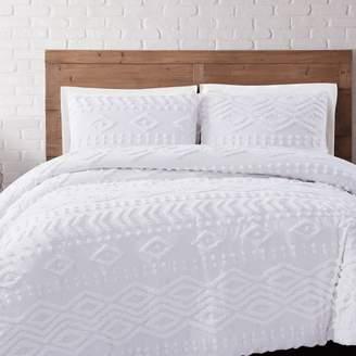 Brooklyn Loom Jameson Tufted Chenille Comforter Set