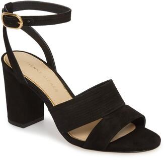 Etienne Aigner Legend Suede Ankle Strap Sandal