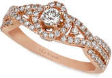 LeVian Le Vian Diamond Diamond Ring (5/8 ct. t.w.) in 14k Rose Gold