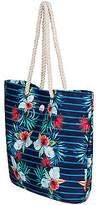 Roxy NEW ROXYTM Printed Tropical Vibe Tote Bag Womens Handbag