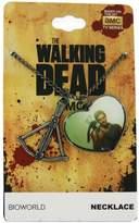 Bioworld Walking Dead Daryl Dixon Heart Crossbow Charm Necklace