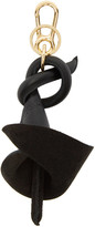 Loewe Black Calla Lily Charm Keychain