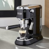 Crate & Barrel DeLonghi ® Dedica Slimline Black Espresso Maker