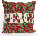 Liora Manné Visions II ''Peace'' Indoor Outdoor Throw Pillow
