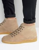 Paul Smith Errol Crepe Sole Suede Boots