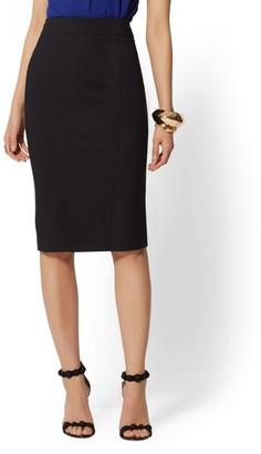 New York & Co. Seamed Pencil Skirt - All-Season Stretch - 7th Avenue
