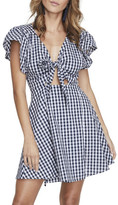 MinkPink Locals Only Gingham Dress