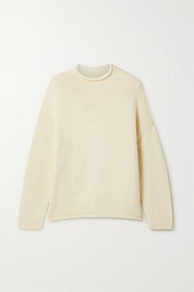 LAUREN MANOOGIAN Pima Cotton And Merino Wool-blend Sweater