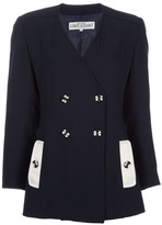 Azzaro Loris Vintage Double Breasted Jacket