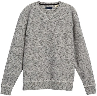 Levis Made And Crafted Geo Stitch Crew Neck Sweater