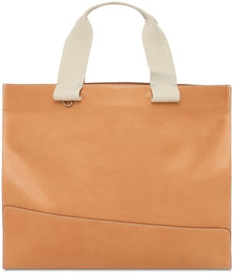 Il Bisonte Sole Fifty On Leather Tote Bag