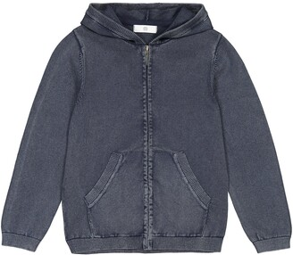 La Redoute Collections Cotton Zip-Up Hoodie, 3-12 Years