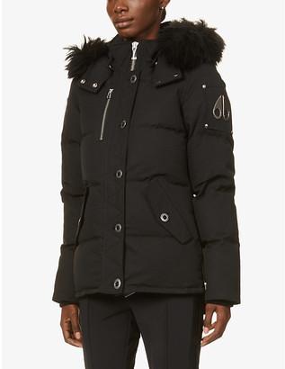 Moose Knuckles 3Q cotton-blend down puffer jacket