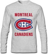 EIELOI Montreal Canadiens 2016-2017 Men's Novelty T-Shirts Long Sleeves