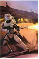 Art.com Star Wars: Episode VII The Force Awakens Fire Poster by