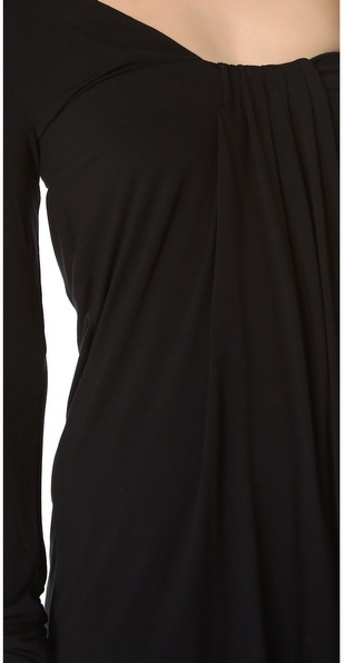 Balmain Pierre Asymmetrical Open Back Dress