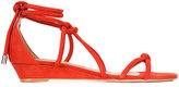 Schutz ankle length sandals