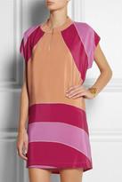 See by Chloe Ellipses printed silk crepe de chine dress