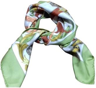 Hermes Carre Geant silk 140 Green Silk Scarves