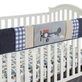 Levtex Baby Levtex® Baby On the Go Rail Guard in Blue/Taupe