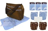 Trend Lab Cloth Diaper Starter Kit, Boys