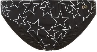 Dolce & Gabbana star print bikini briefs