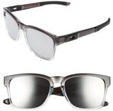 Oakley Women's Catalyst 56Mm Sunglasses - Dark Ink Fade/ Chrome Iridium