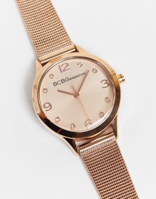 BCBGMAXAZRIA Generation mesh watch