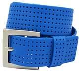 PGA TOUR Men's Perforated Silicone Belt