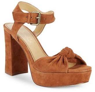 Splendid Bates Suede Platform Sandals