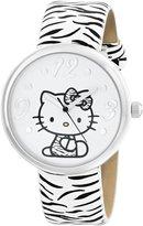 Hello Kitty Sanrio Women's HKAQ5369 Silver-Tone Watch