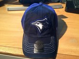 '47 Toronto Blue Jays Cap Hat Blue MLB Men's Slot Back One Size Adjustable Buckle