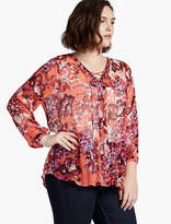 Lucky Brand Floral Peasant
