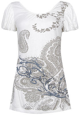 Forever 21 Paisley Tunic