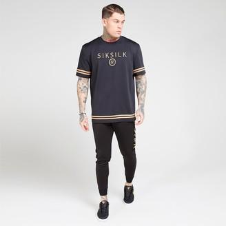 SikSilk Men's Raglan Tech T-Shirt