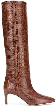 Paris Texas Mid-Heel Knee Length Boots
