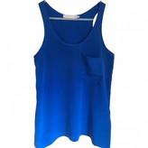 Kain Label Blue Silk Top for Women