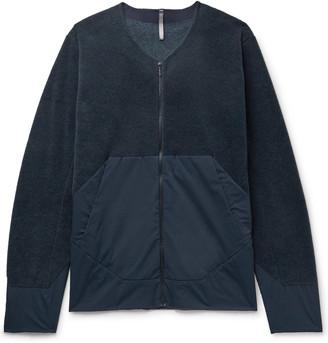 Veilance Dinitz Comp Fleece And Stretch-Nylon Jacket