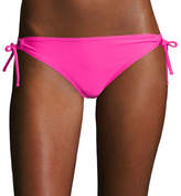 Arizona Keyhole Side-Tie Hipster Swim Bottoms