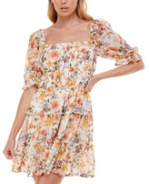 Thumbnail for your product : Trixxi Juniors' Tiered Fit & Flare Dress