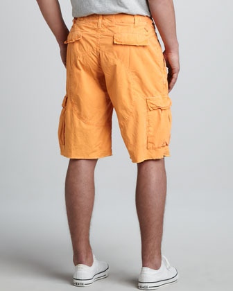 Original Paperbacks Oxnard Cargo Shorts, Tangerine