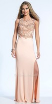 Dave and Johnny Embellished Intricate Sequin Design Prom Dress