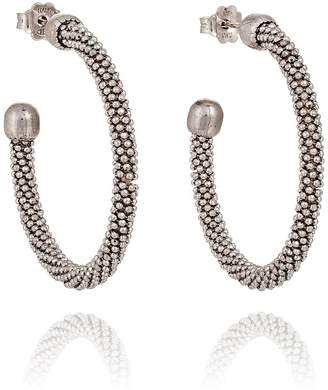 Silver Spring Durrah Jewelry Hoop Earrings