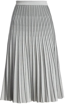 Proenza Schouler Pleated Knit Midi Skirt