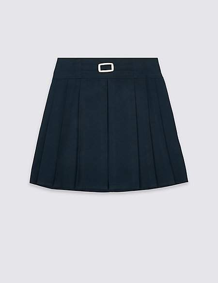 Marks and Spencer Girls' Skirt with Permanent Pleats